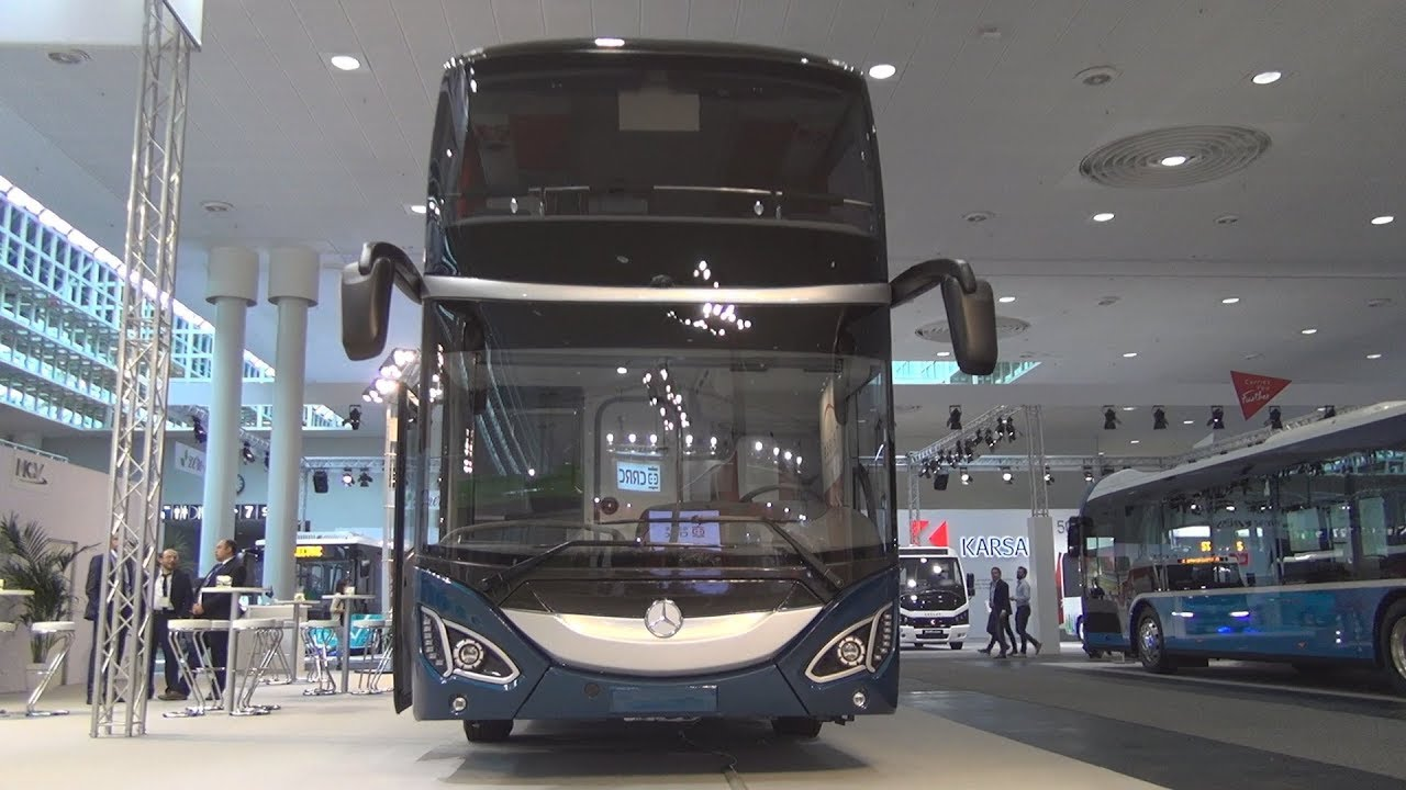 Mercedes-Benz MCV 800 Double-Decker Bus (2019) Exterior and Interior