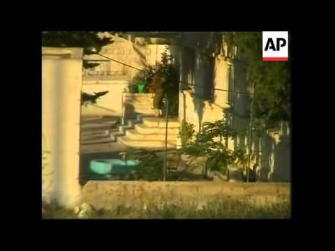 Palestinian police arrested, IDF bulldozers destroy buildings