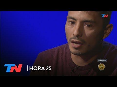 """De pibe chorro a licenciado""   HORA 25"