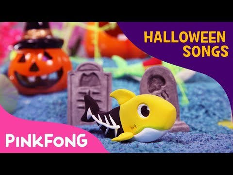 Clay Halloween Sharks | Halloween Songs | Baby Shark | Pinkfong Songs for Children