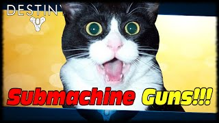 New Submachine Gun Weapon Class In Rise Of Iron!?!? Destiny Rise Of Iron Sub Machine Guns!!!