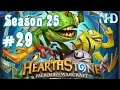 Let's Play Hearthstone (S25) Ranked vs Warrior 10 Steps