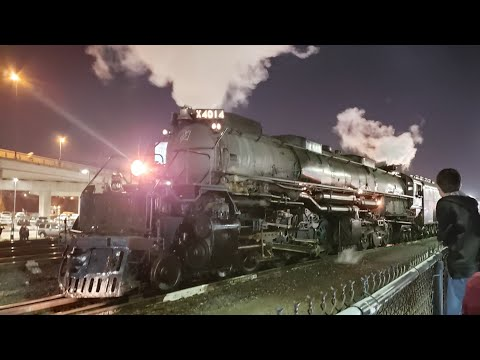 Union Pacific Big Boy 4014 Arriving In Kansas City