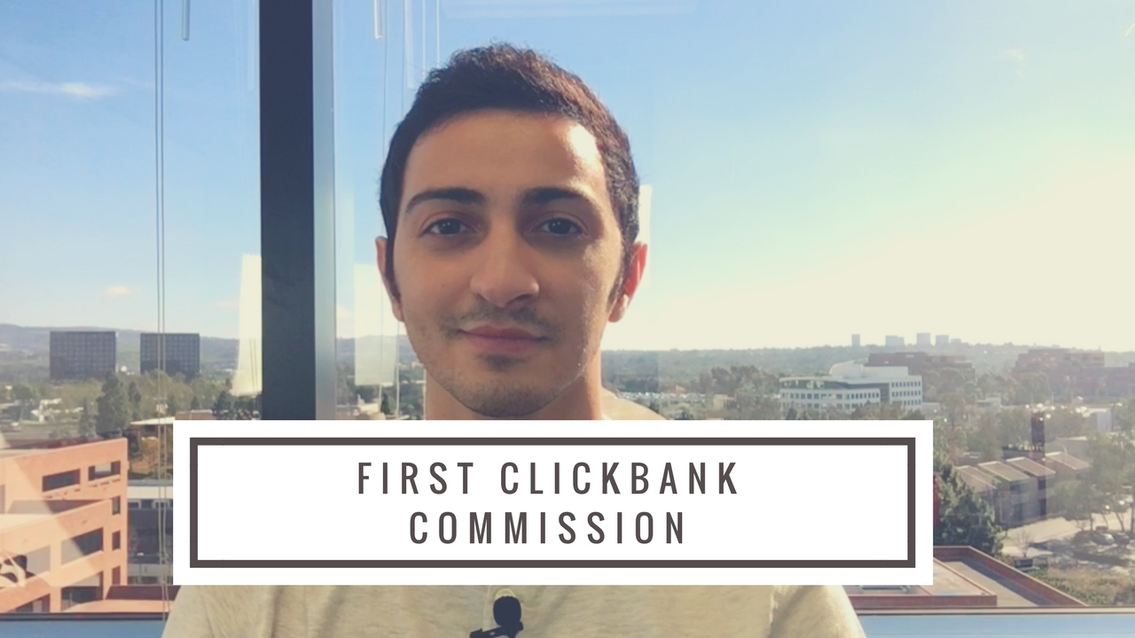 Question: How Did I Make My First Clickbank Commission