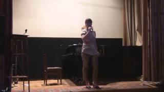 """""""Бей волна"""": музыка, слова и исполнение - Кристина Выборнова."""