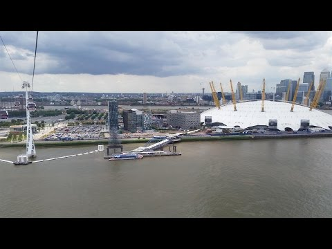 Vertigini sul Tamigi, Cable Car by Emirates...Vlog Londra 2014