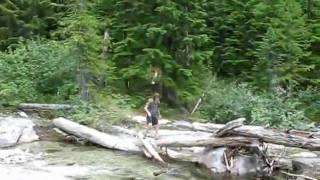 Idaho Natural Waterslides Hike
