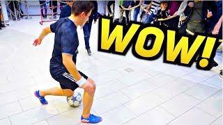 Insane NUTMEG Football Skills! ★ 2018