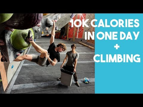 10K CALORIE CHALLENGE + CLIMBING - Worst Experience Ever?