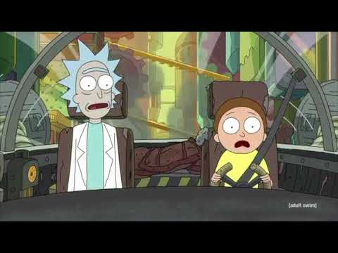 Rick And Morty - All The Fart Jokes