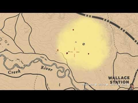 Карта сокровищ Хижина Уотсонов (все места) в Red Dead Redemption 2 Online PC