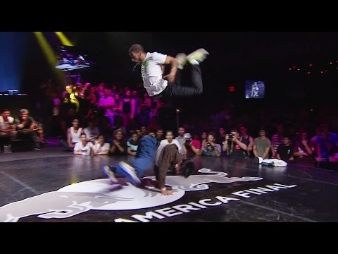 Victor VS Gravity - FINALS - Red Bull BC One North America Final 2014