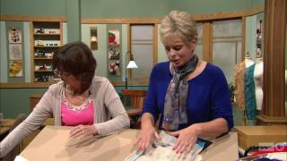 Sewing With Nancy - Today's Crazy Quilting with your Embroidery Machine, Part 1