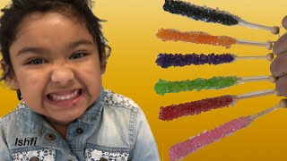 Ishfi Learns Color with Candy