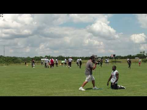 Noa Guess at QB facing defense coached by Pernell McPhee and Anthony Dixon Tupelo, MS