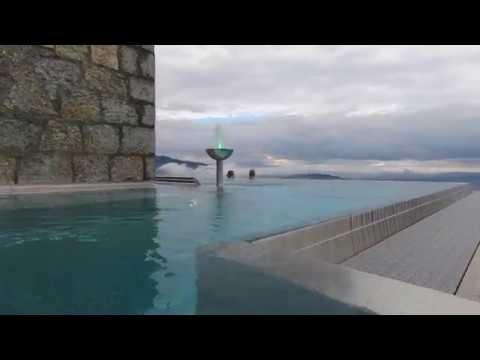 Morning swim at the Bürgenstock Infinity Pool