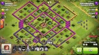 Clash of Clans | Th 9 vs. Premature Th 10 | Loonion Raid