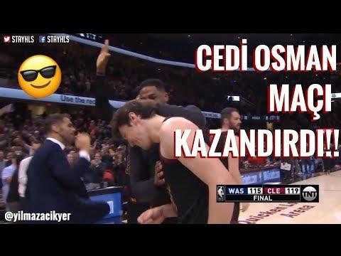 CEDİ OSMAN MAÇI KAZANDIRDI!! -Clarkson'dan İnanılmaz Smaç!! - 2017-2018 NBA SEZONU