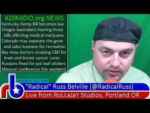 The Russ Belville Show #171 - How Smoking Pot Gets Your Kids Taken Away