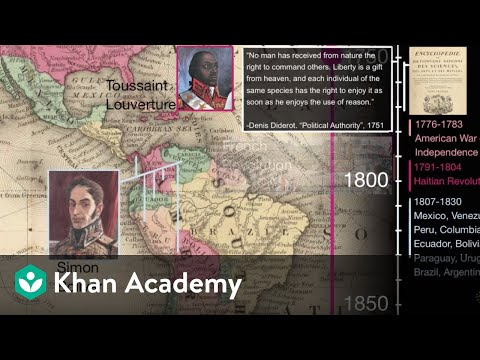 Latin American Independence movements | 1450 - Present | World History | Khan Academy Mp3