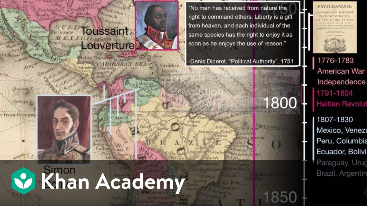 Download Latin American Independence movements | 1450 - Present | World History | Khan Academy