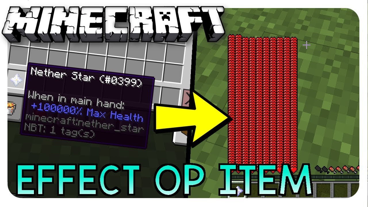 minecraft how to add attributes to items with commands