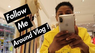 FOLLOW ME AROUND THE MALL ! | (Funny Vlog )