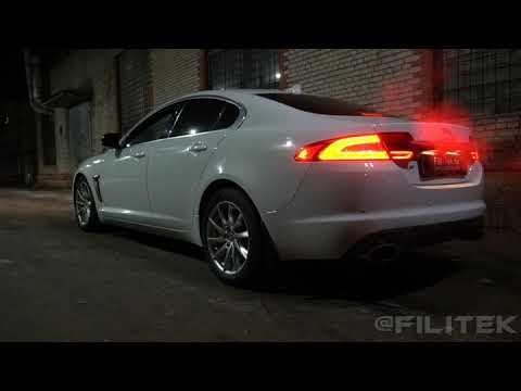 Выхлоп на Jaguar XJ 3 литра