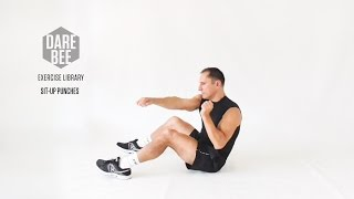 Exercise Library: Sit-Up Punches