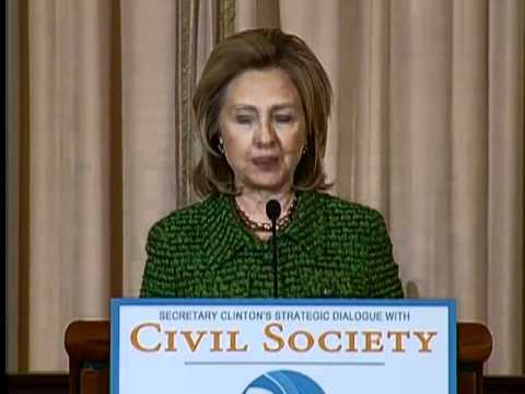 Secretary Clinton Hosts Strategic Dialogue With Civil Society