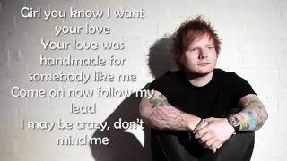 Ed Sheeran Shape of you Lyrics
