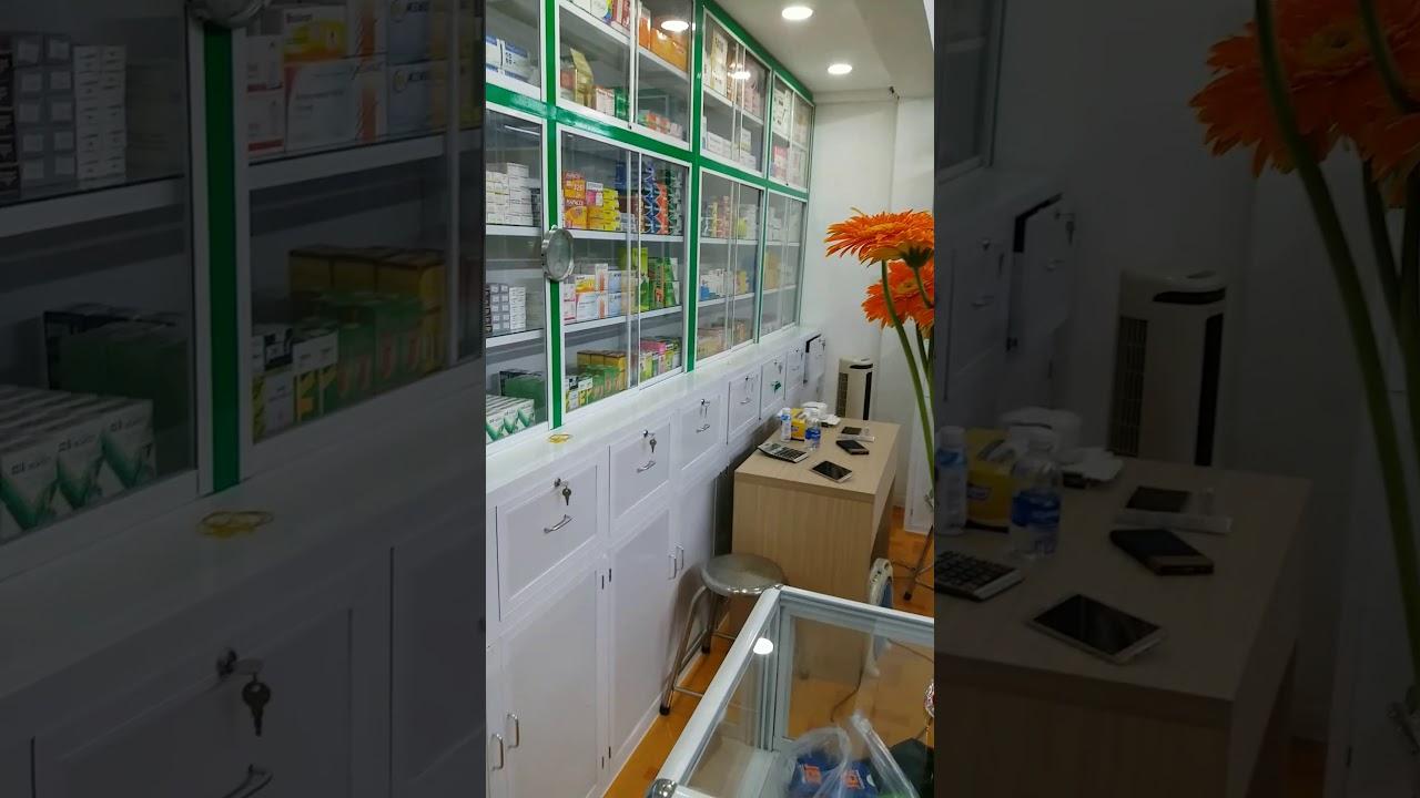 Mẫu nhà thuốc tây đẹp giá rẻ - Tứ vấn báo giá thiết kế thi công lắp đặt mở tiệm bán thuốc tây TPHCM