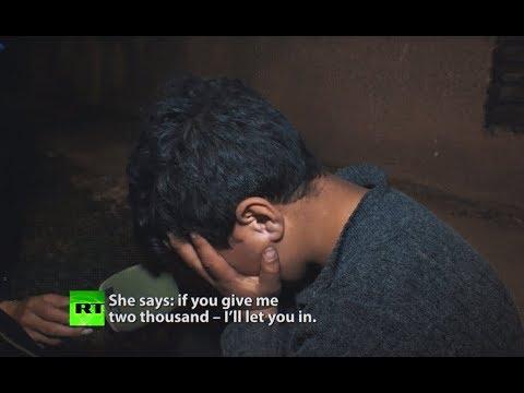 Heartbreaking: War in Syria left these children homeless