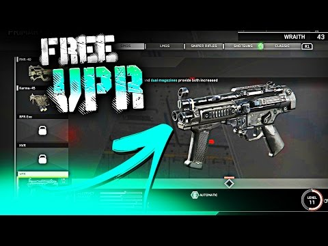 "FREE ""VPR"" SUBMACHINE GUN!"