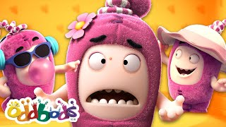 Newt's Dress Up Challenge | Funny Cartoon for Kids by @Oddbods - Official Channel