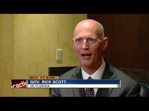 Governor Rick Scott furious at fellow republicans