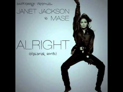 Janet Jackson vs Mase & Blackstreet - Alright (AudioSavage's Shalamar Remix)