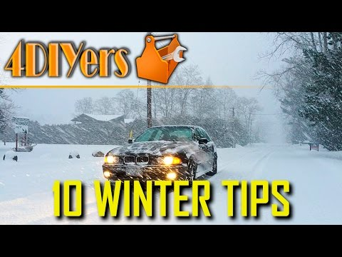 10 Things to Keep in your Vehicle for Winter Driving
