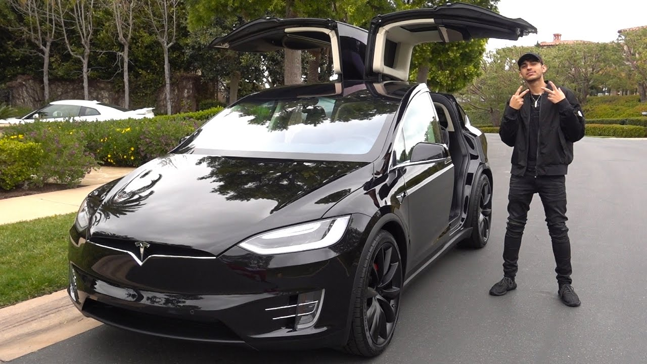 My Brand New Car Tesla Model X Youtube Linkis Com