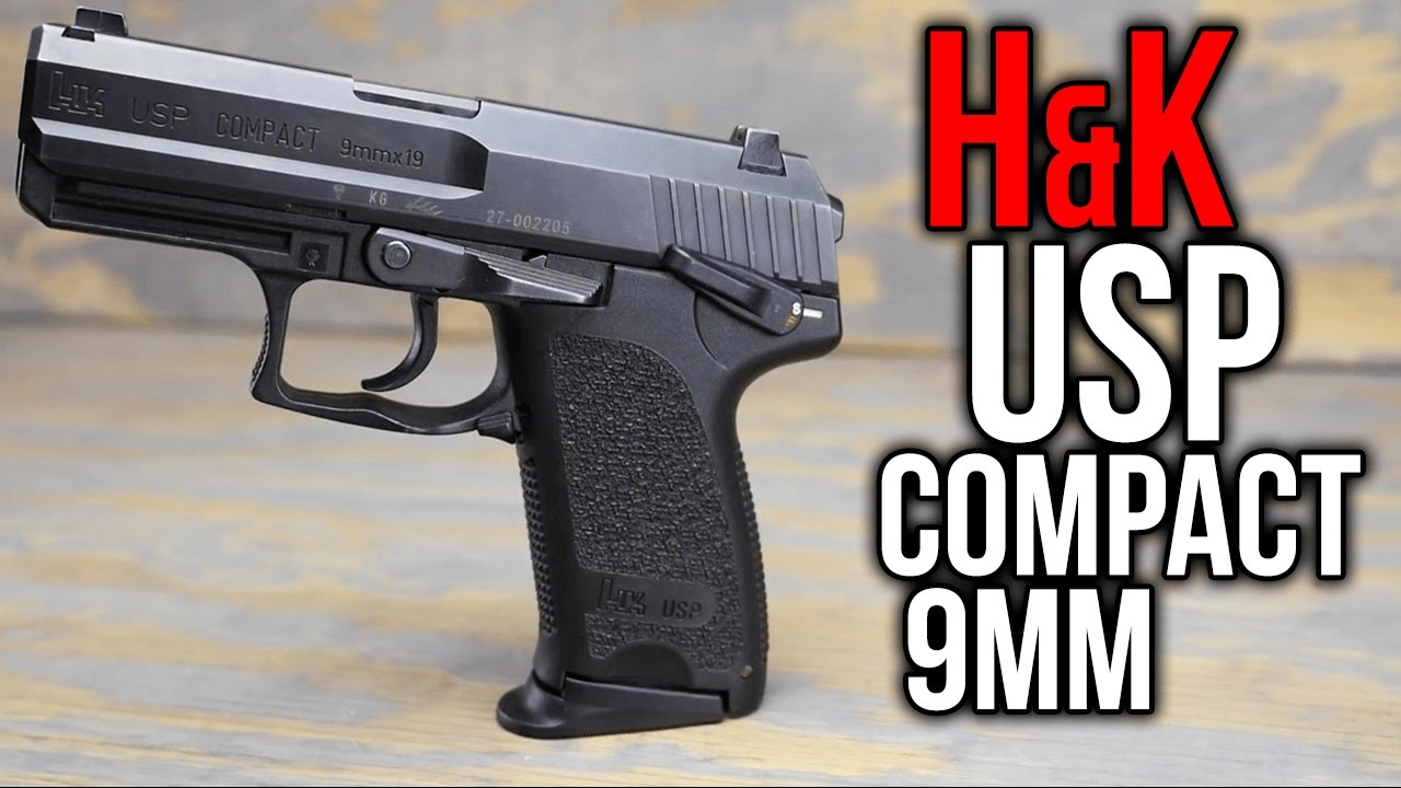 Heckler & Koch USP Compact 9mm - YouTube