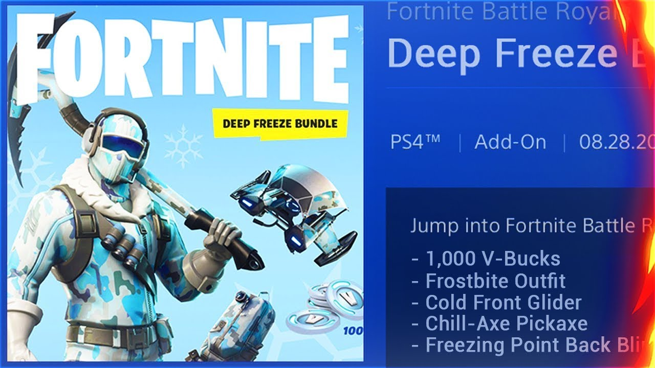 How To Get The New Deep Freeze Starter Pack New Deep Freeze Skins