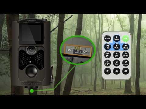 Amcrest Game Hunting Trail Camera Setup & Features Walkthrough (ATC-802)