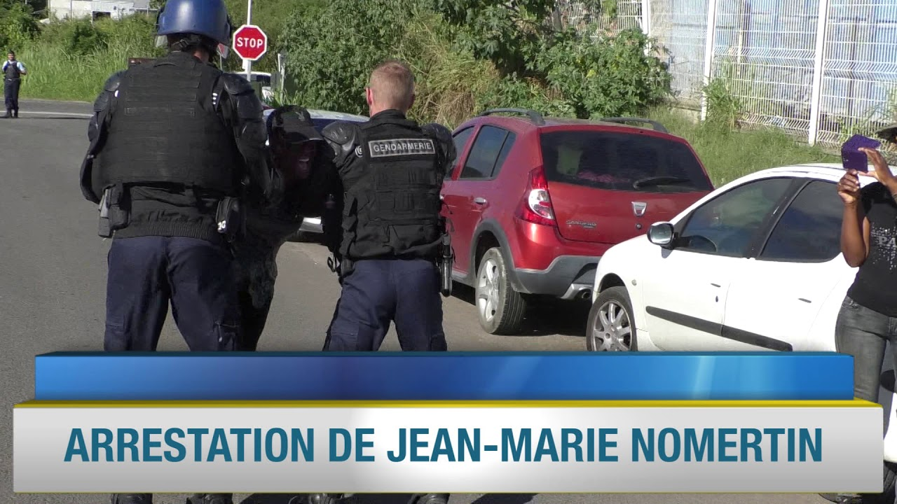 Arrestation de Jean-Marie Nomertin