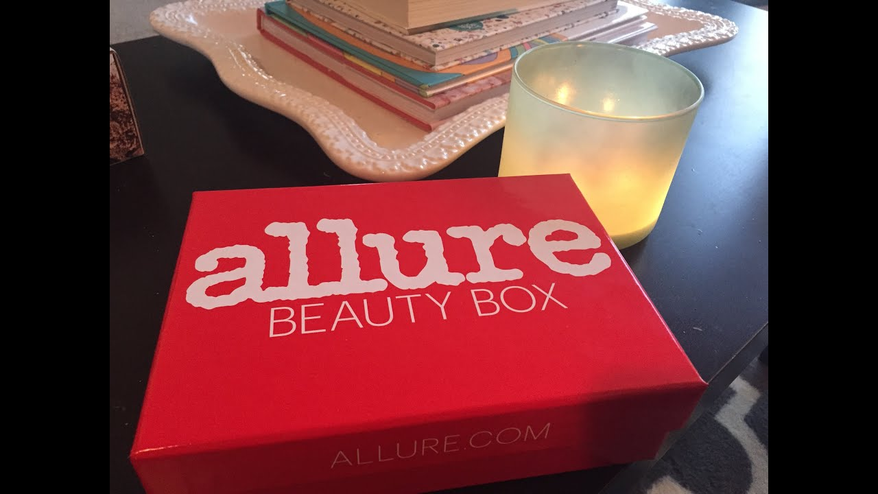 Allure Beauty Box July 2015 Unboxing | Amy Victoria
