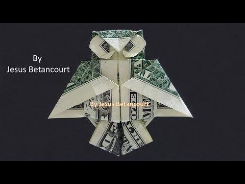 Origami Dollar Bill Owl