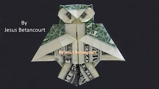 Origami Dollar Bill Owl