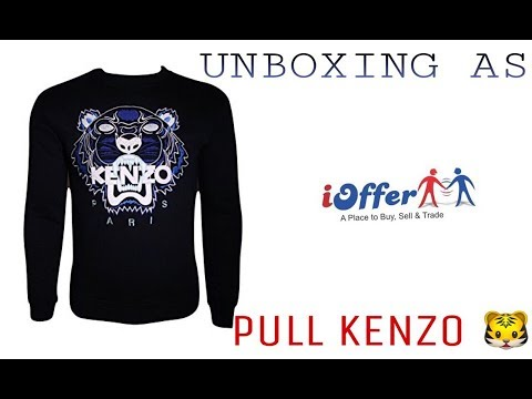b14e488a UNBOXING iOFFER Pull Kenzo Unboxing 16