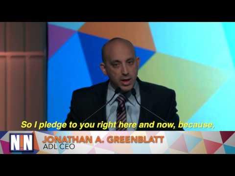 Jonathan Greenblatt's Muslim Registry Pledge at Never Is Now!