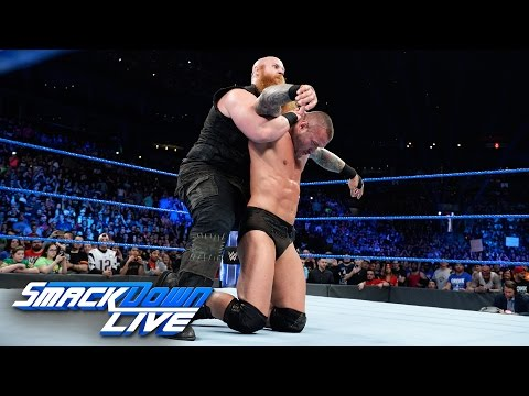 Randy Orton vs. Erick Rowan: SmackDown LIVE, April 11, 2017