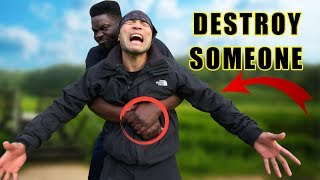 How to destroy someone coming from the back